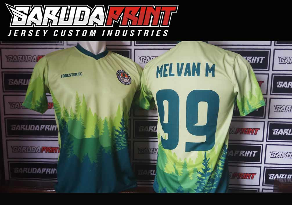Melayani Pemesanan Jersey Futsal Printing Di Kota Slawi
