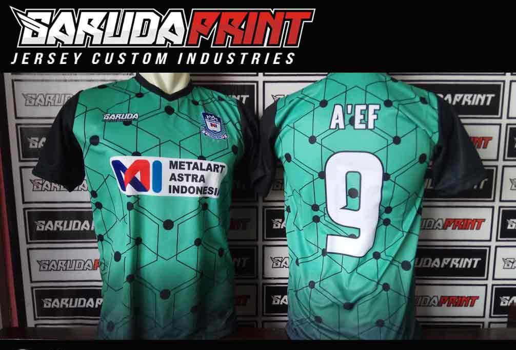 Bikin Baju Jersey Futsal Printing Desain Custom  1bef55373ba47