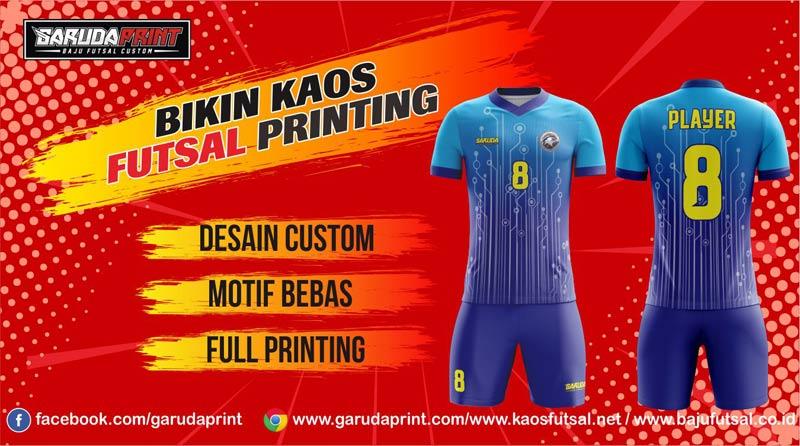 printing jersey futsal desain sendiri