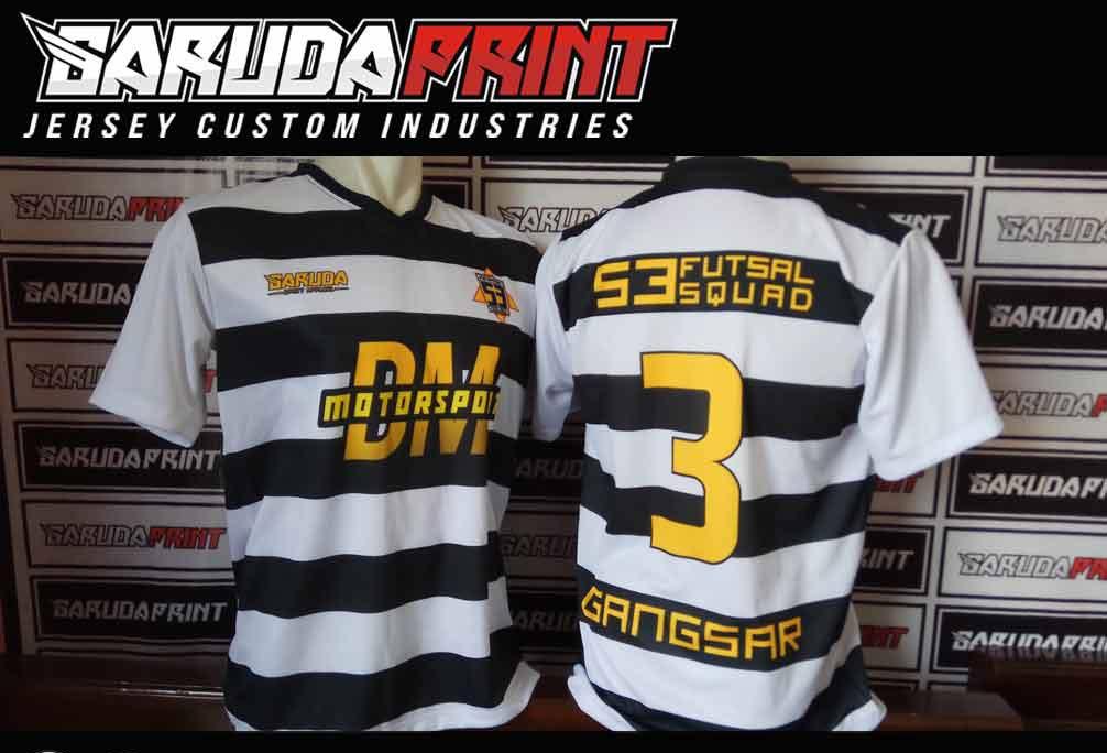 Jasa Pembuatan Baju Futsal Full Print Di Kota Gresik Yang Berpengalaman