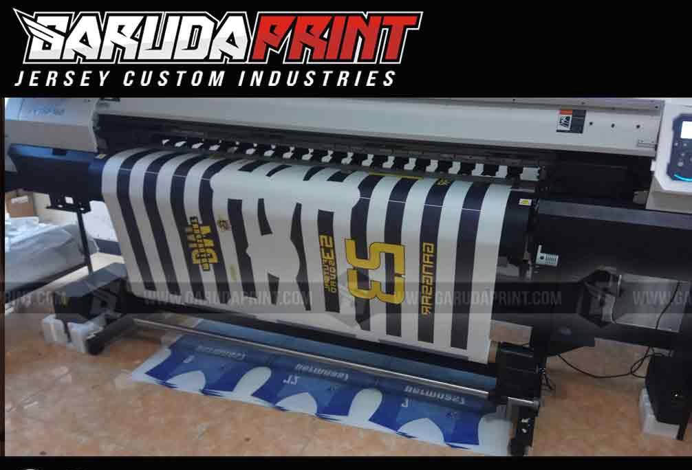 Vendor Pembuatan Kaos Jersey Futsal Full Printing Di Kota Kanigoro