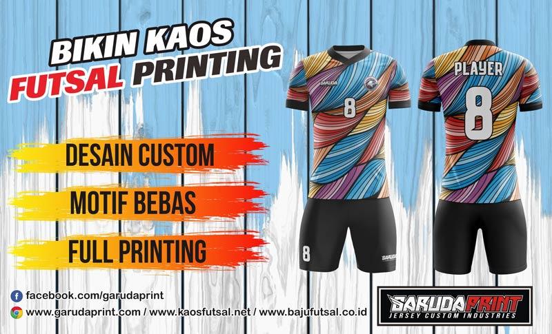 Vendor Konveksi Kaos Futsal Full Print Di Kota Slawi