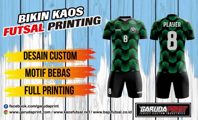 Jasa Print Baju Futsal Di Kota Kebumen Pilihan Lengkap Desain Terbaru