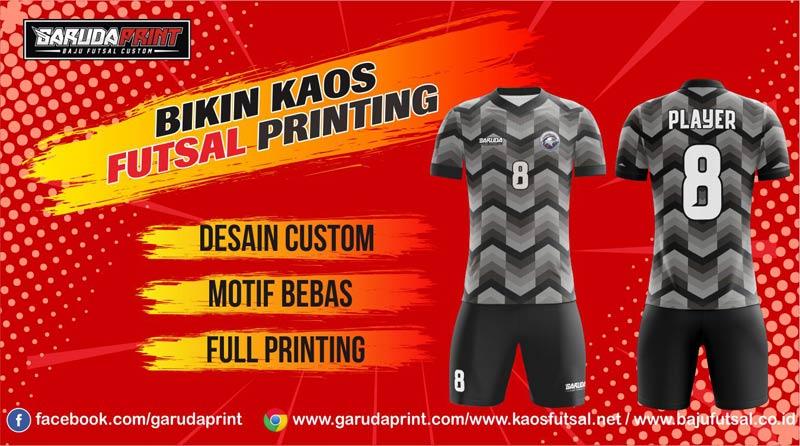 Printing Jersey Futsal Di Kota Kendal Yang Berpengalaman