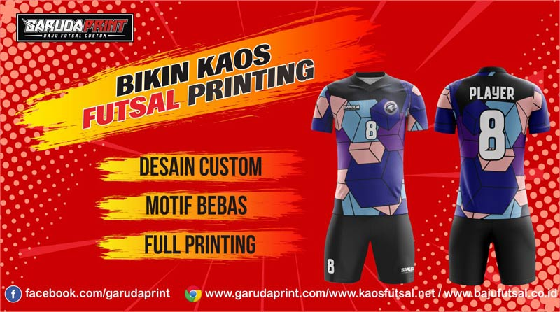 Tempat Printing Jersey Futsal Di Kota Purwokerto Yang Murah
