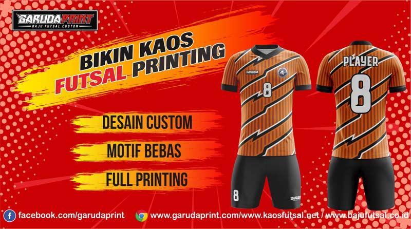 Konveksi Print Kaos Futsal di Kota Pemalang Gratis Desain