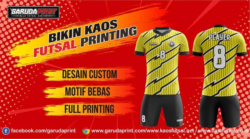 Tempat Printing Kaos Futsal di Kota Purbalingga Terpercaya