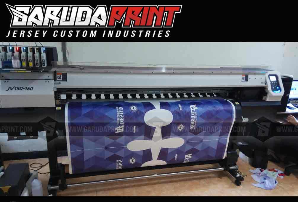 Jasa Pembuatan Jersey Futsal Printing Di Kota Surakarta