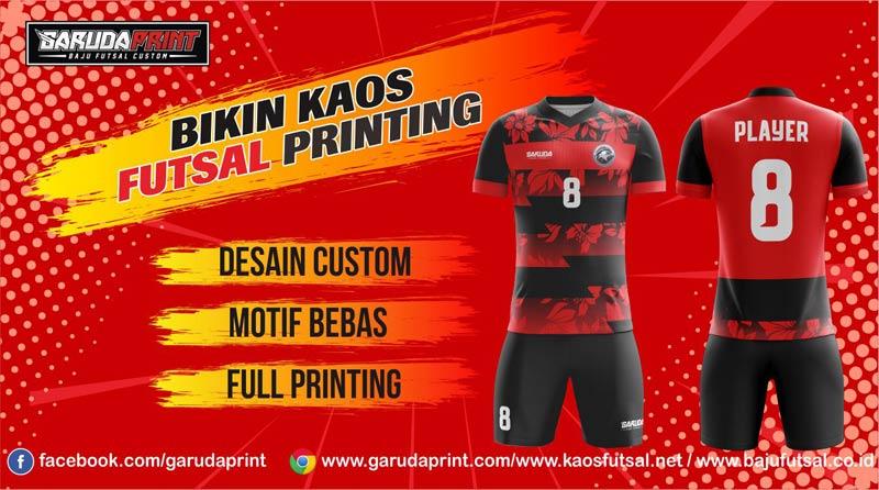 Pusat Bikin Baju Futsal Full Print di Kota Temanggung