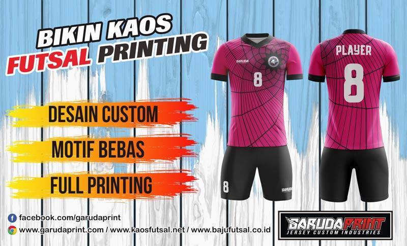 Jasa Pembuatan Jersey Futsal Printing Di Kota Wonogiri Berkualitas Tinggi