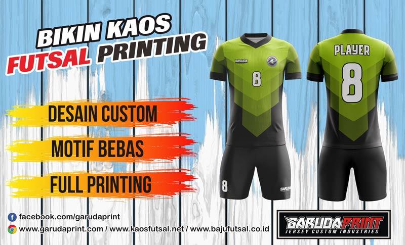 Jasa Printing Kaos Futsal Di Kota Lumajang Yang Berpengalaman