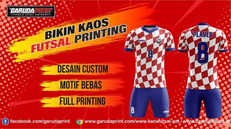 Tempat Bikin Jersey Futsal Full Printing Di Kota Nganjuk Berpengalaman