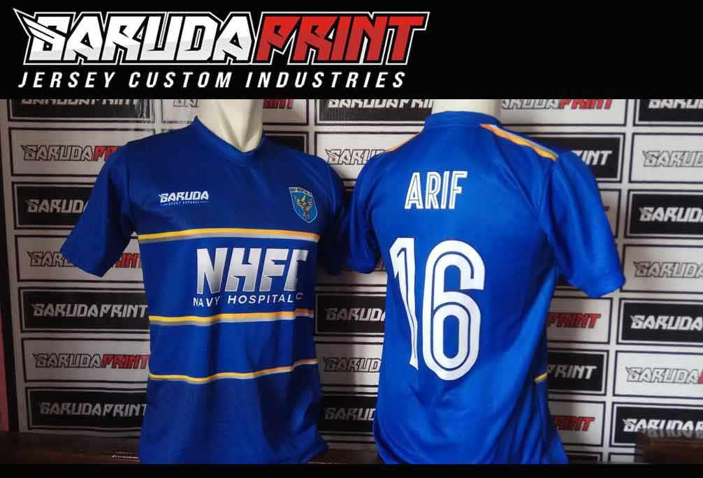 Bikin Kostum Futsal Printing Di Kota Mojokerto Gratis Desain