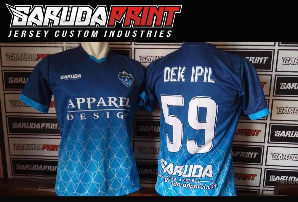 Buat Baju Bola Full Print Di Kota Tarogong Kidul Kualitas Terbaik