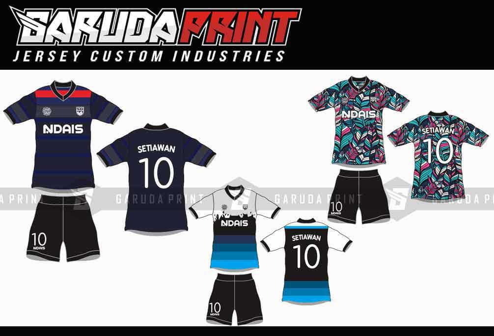Buat Baju Futsal Printing Di Kota Karawang Gratis Desain