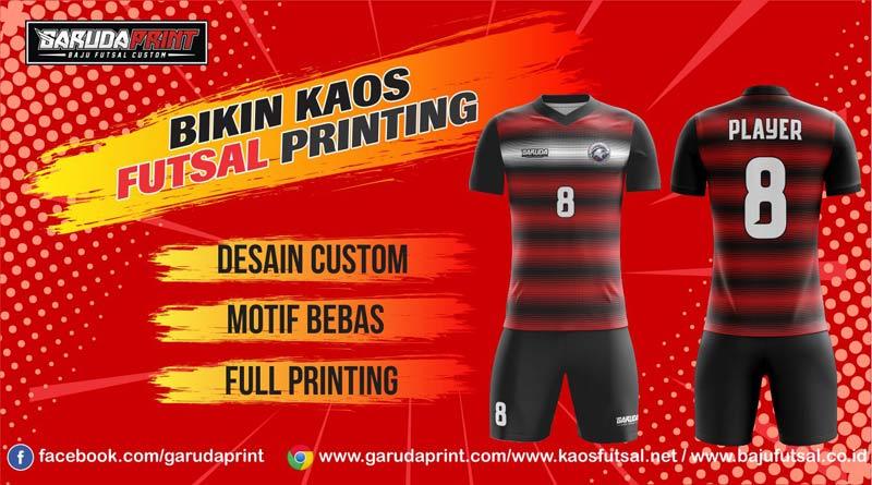 Bikin Baju Futsal Printing Di Kota Batu Desain Sendiri