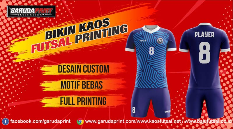 Buat Baju Futsal Printing Di Kota Pasuruan Paling Keren