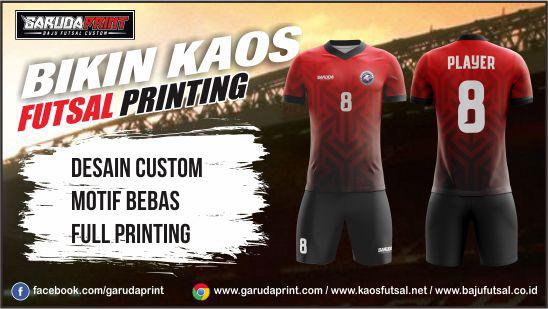 Bikin Baju Bola Futsal Full Print Di Kota Blitar Kualitas Terbaik