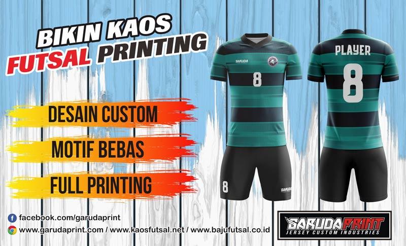 Jasa Bikin Jersey Futsal Printing Di Kota Cianjur Desain Unik