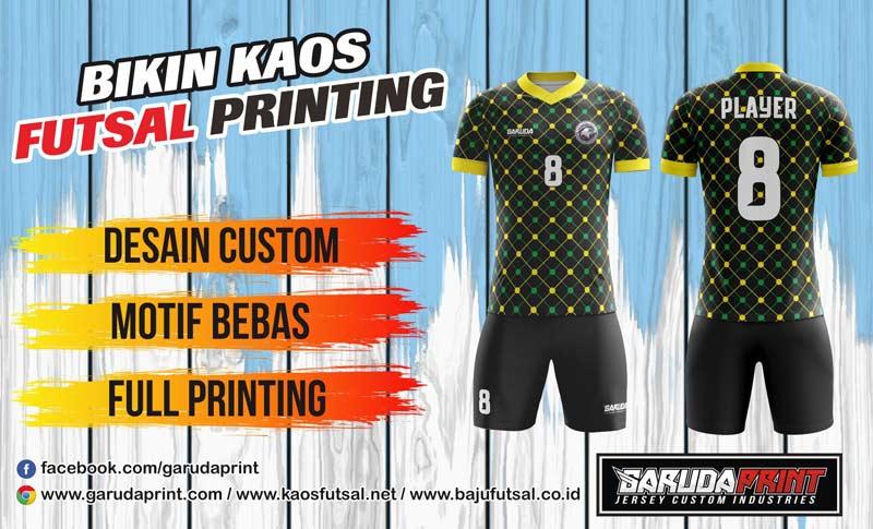 Jasa Bikin Kostum Futsal Full Printing Di Kota Majalengka Berpengalaman