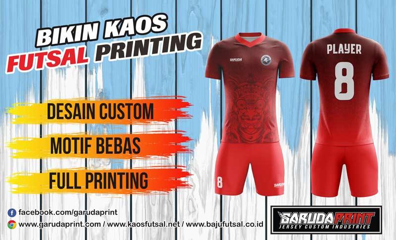 Pembuatan Baju futsal Printing Di Kota Pacitan Online