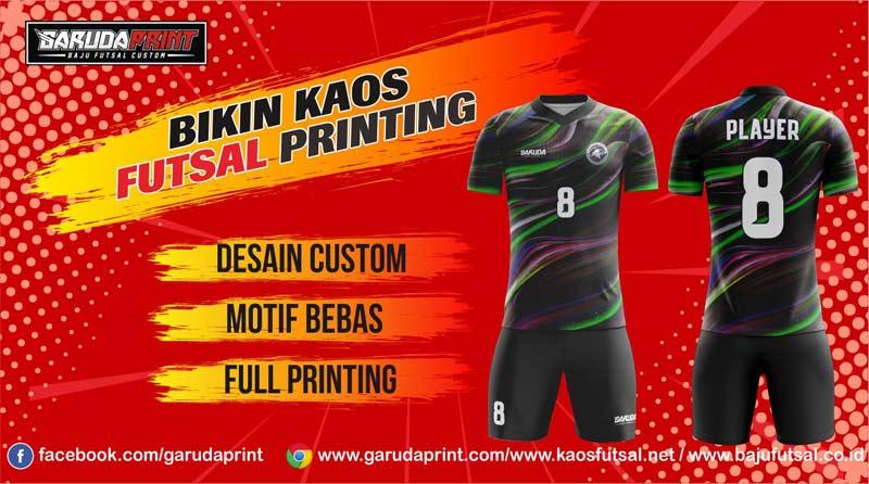 Bikin Baju Futsal Full Print Di Kota Kraksaan Terpercaya