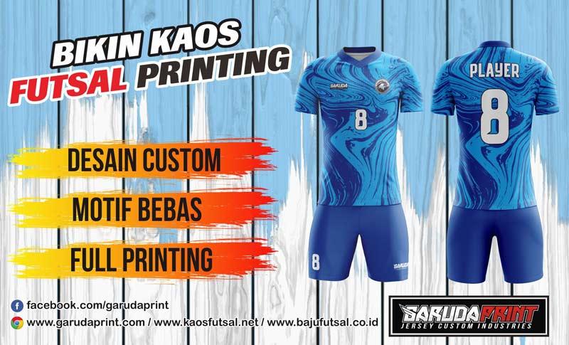 Printing Jersey Futsal Di Kota Barabai Melayani Gratis Desain