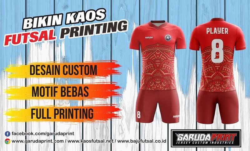 Bikin Jersey Futsal Full Print Di Kota Situbondo Gratis Desain