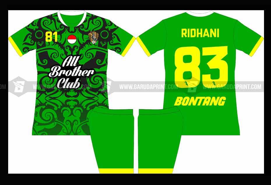 Print Baju Futsal Di Kota Rupit Bahan Dry Fit Berkualitas