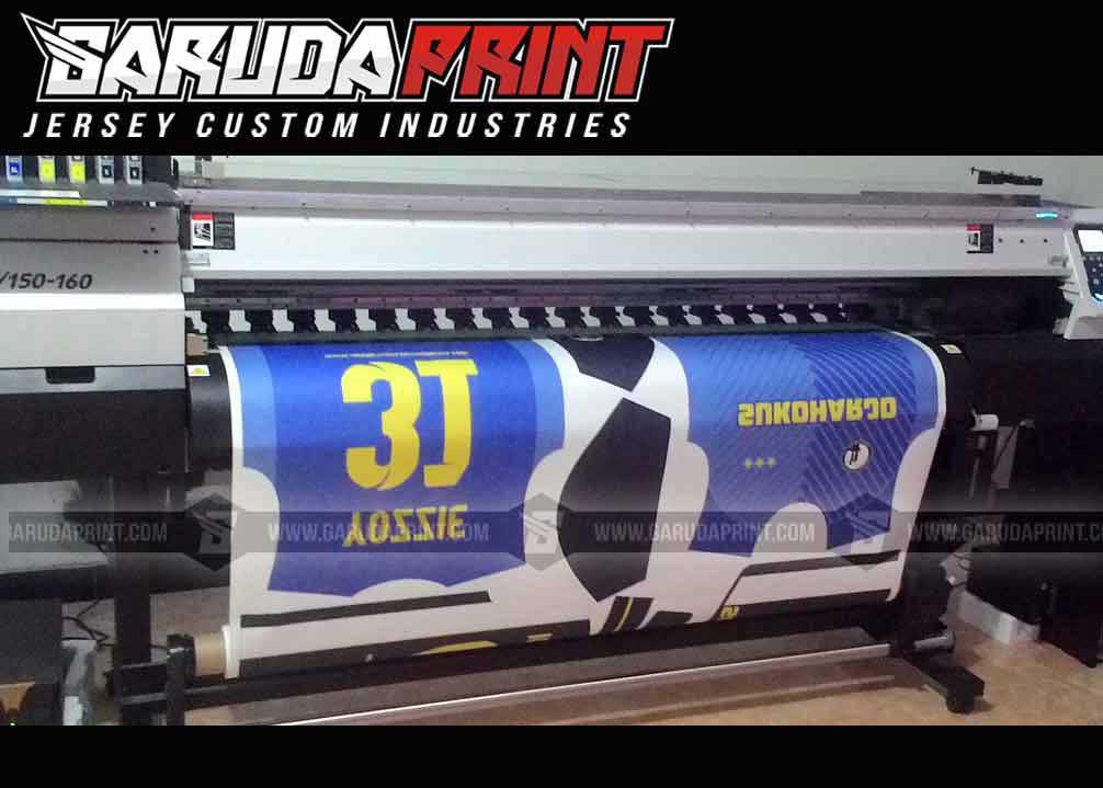 Printing Jersey Bola Futsal Di Kota Martapura Paling Lengkap