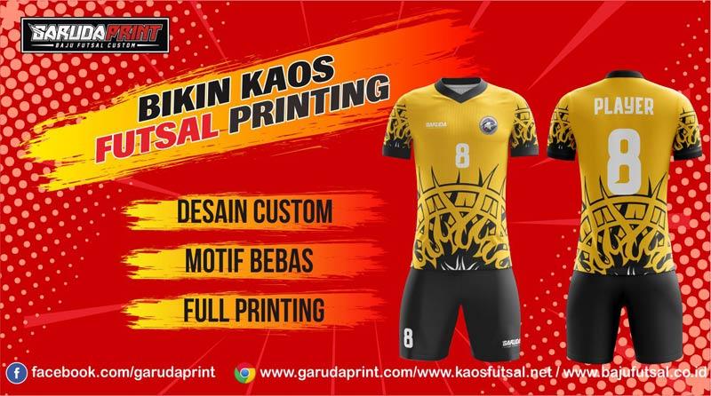 Menerima Pembuatan Jersey Futsal Full Printing Di Kota Singaparna