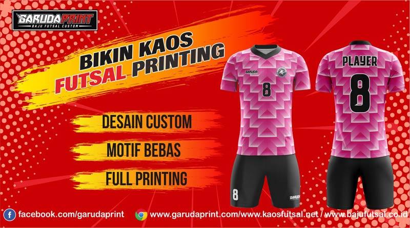 Jasa Pembuatan Jersey Futsal Printing Terbaik Di Kota Bandung