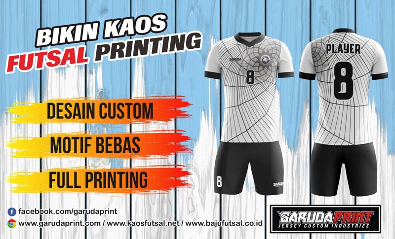 Bikin Baju Futsal Full Print Di Kota Bekasi Kualitas Terbaik