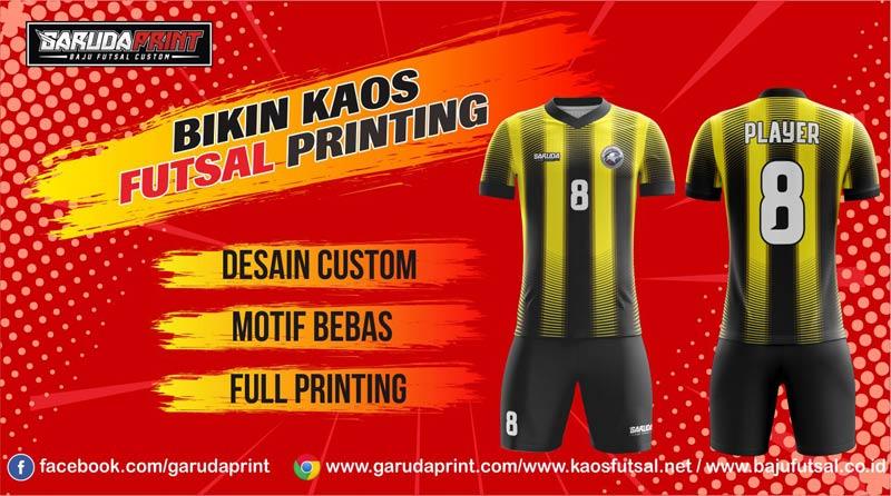 Printing Baju Futsal Di Kota Sukabumi Gratis Jasa Desain