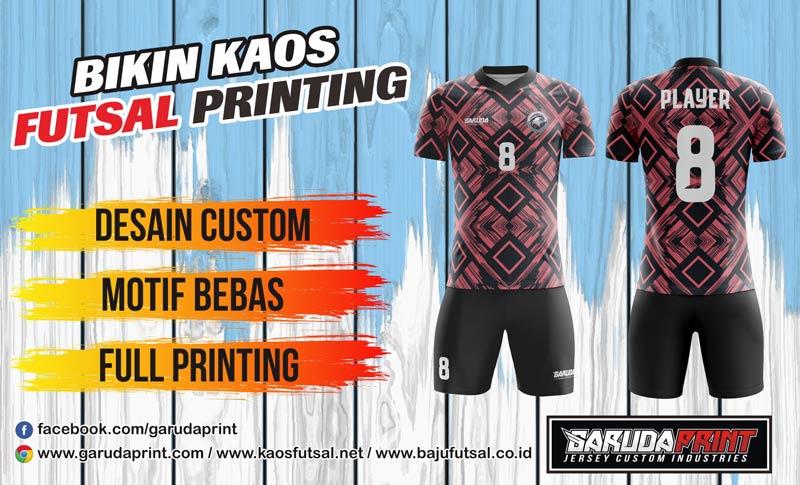 Printing Jersey Futsal Di Kota Palembang Online Dan Terpercaya