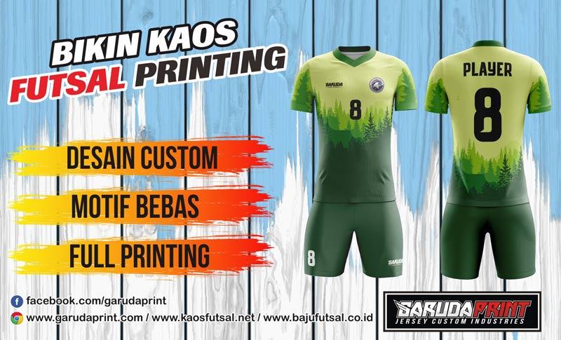 Printing Kostum Futsal Di Kota Tebing Tinggi Harga Bersaing