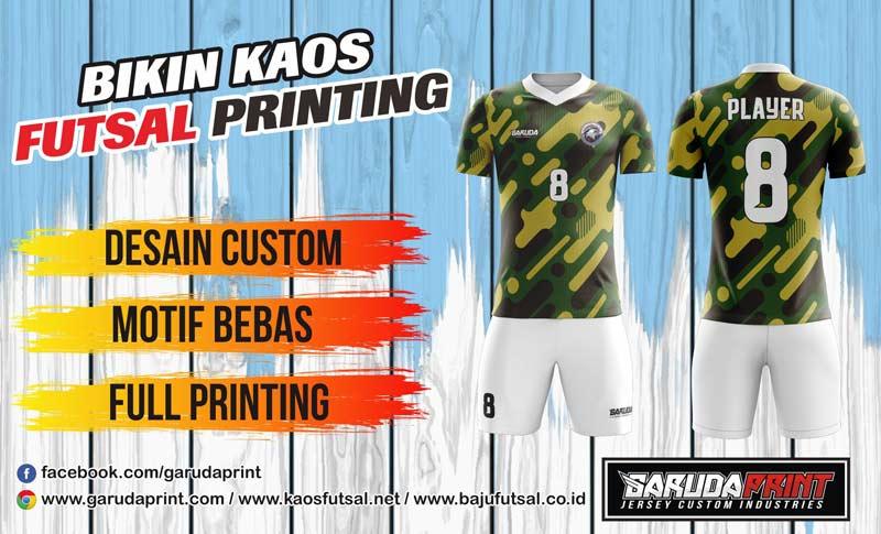 Printing Baju Futsal Di Kota Sekayu Berpengalaman Dan Terpercaya