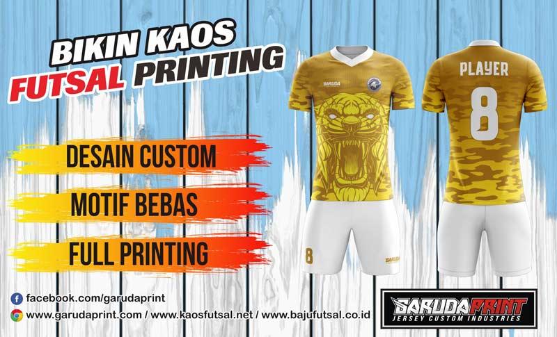 Printing Kaos Futsal Di Kota Muara Beliti Gratis Desain