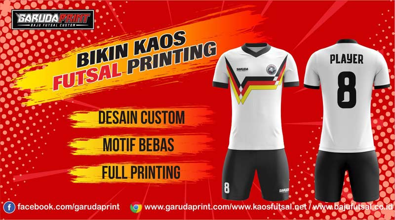 Printing Baju Futsal Di Kota Padang Pilihan Paling Lengkap