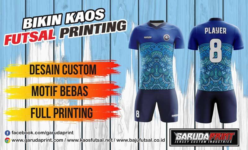 Print Baju Futsal Di Kota Bukit Tinggi Gratis Desain