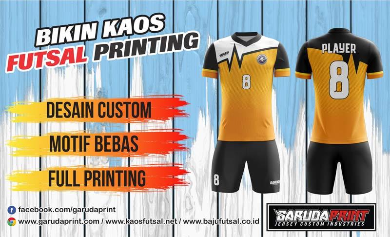 Print Baju Futsal Di Kota Martapura Berkualitas Tinggi