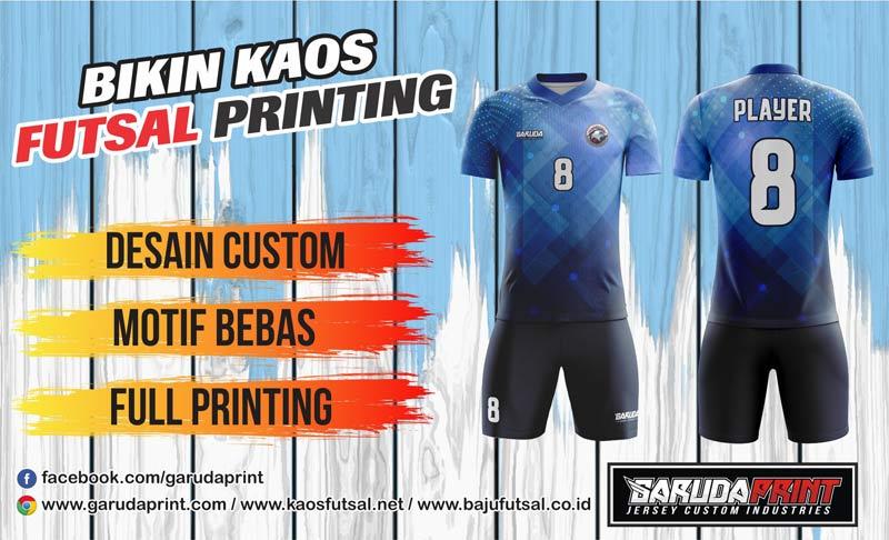 Print Jersey Futsal Di Kota Rantau Harga Murah Berkualitas