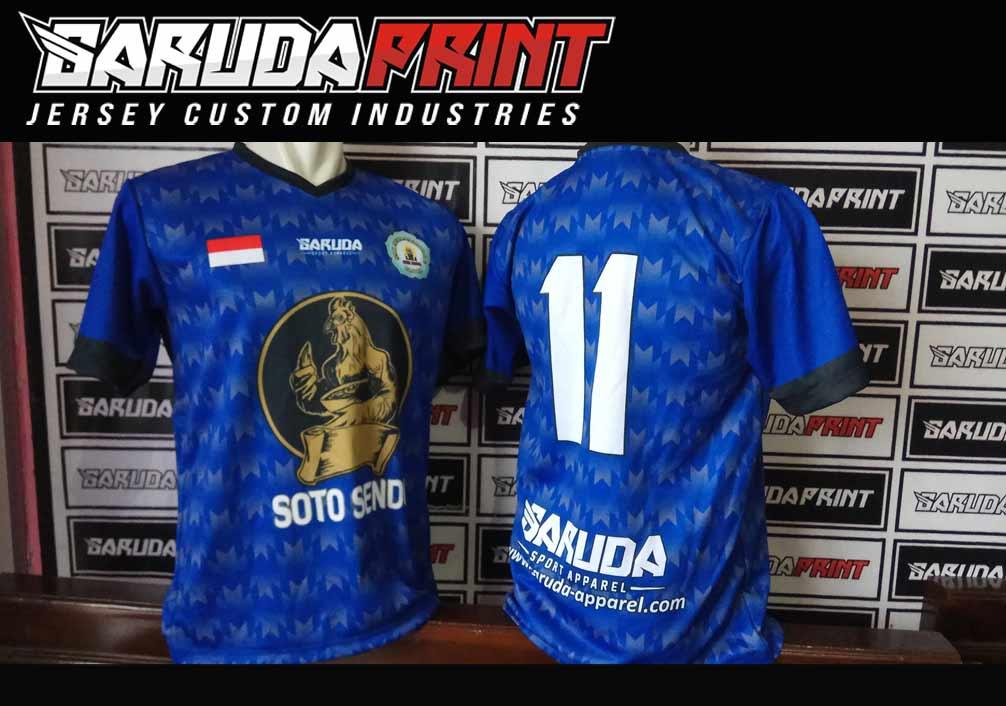 Print Kaos Futsal Di Kota Banjarbaru Paling Bagus