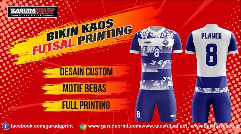 Printing Jersey Futsal Di Kota Stabat Harga Paling Murah