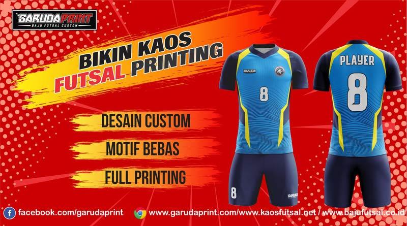 Printing Jersey Futsal Di Kota Taruntung Berkualitas