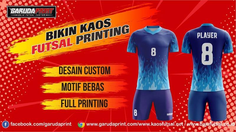 Printing Jersey Futsal Di Kota Arosuka Online Berkualitas