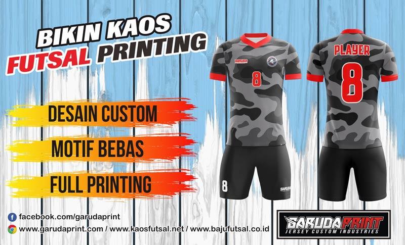 Printing Jersey Futsal Di Kota Sidikalang Paling Keren