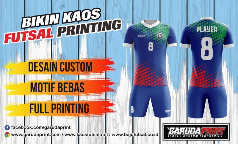 Printing Baju Futsal Di Kota Kotabaru Melayani Offline Dan Online