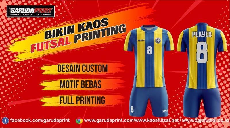 Print Kaos Futsal Di Kota Sipirok Yang Bermutu Tinggi