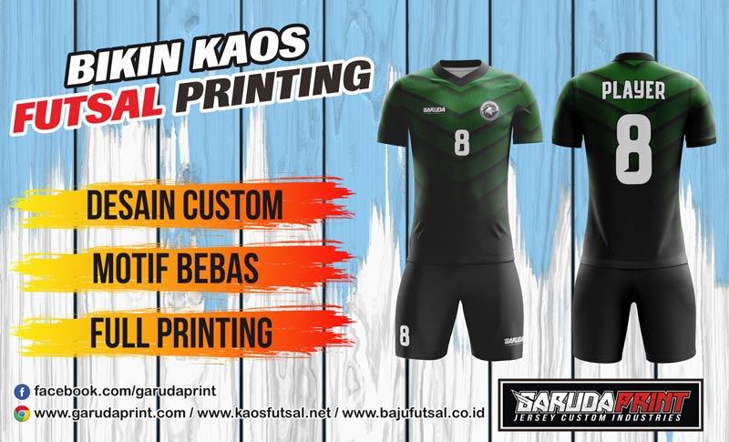 Print Baju Futsal Di Kota Prapat Rantau Gratis Desain